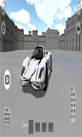 豪华汽车驾驶3D