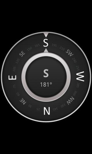 超简单指南针
