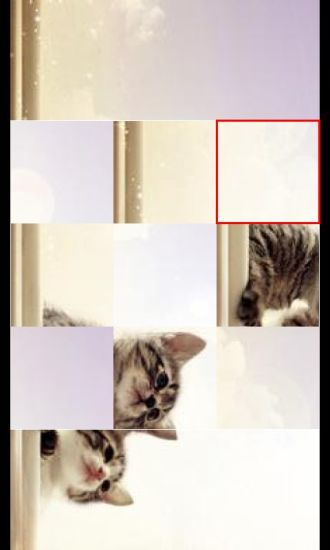 可爱猫咪拼图游戏