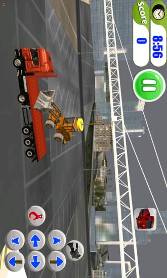 3D集装箱卡车模拟器