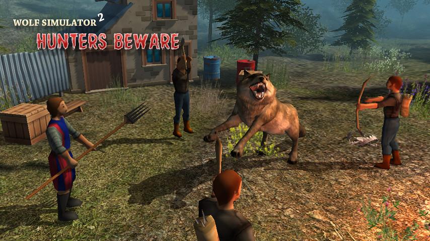 饥饿的狼3D模拟器