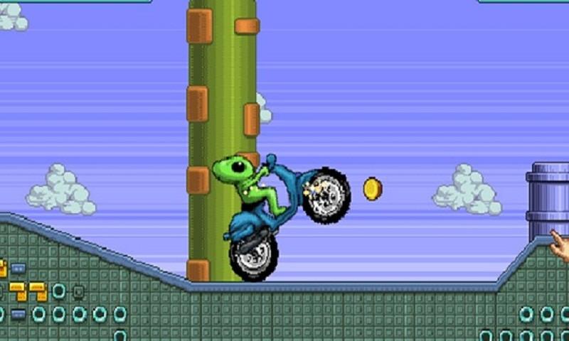 外星人摩托比赛