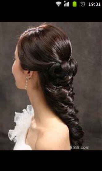 2014最美新娘发型