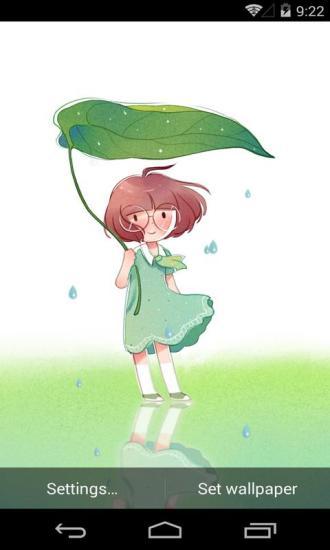 小普通之雨季梦象动态壁纸