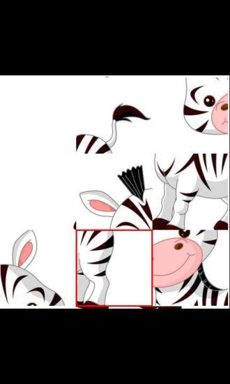 动物儿童益智拼图