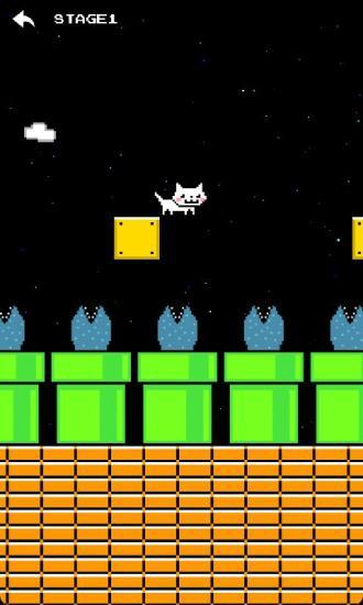 跳跃小猫咪