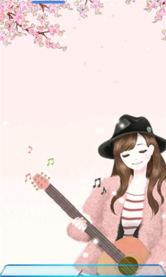 弹吉他的美少女美图的动态壁纸|玩工具App免費|玩APPs