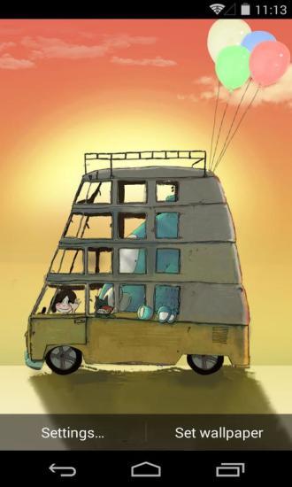 安戈力的旅行梦象动态壁纸