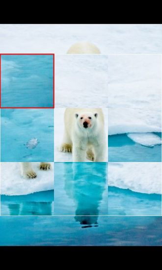 北极熊拼图小游戏