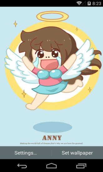 伟大的安妮之天使梦象动态壁纸