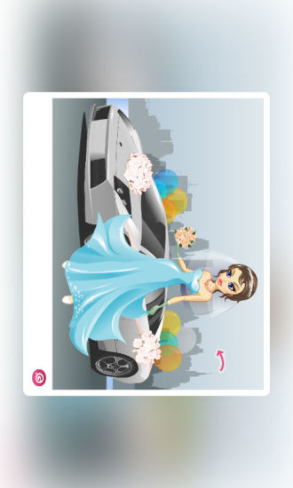 香车接新娘