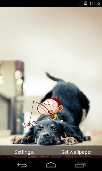 阿U之宠物宝贝梦象动态壁纸
