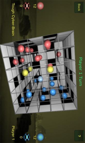 3D立方跳棋