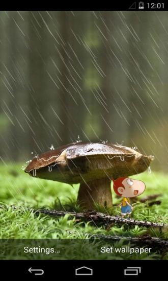 阿U之御风雨梦象动态壁纸