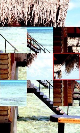 马尔代夫风景拼图