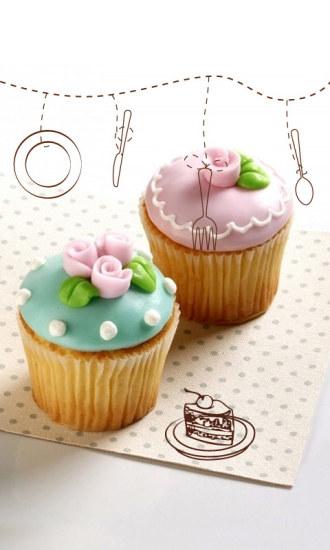 Cupcake-FUN主题解锁屏