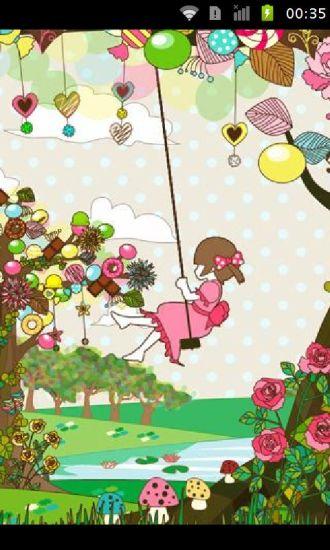 幸福爱情树动态壁纸