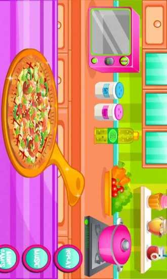 宝宝Pizza厨师