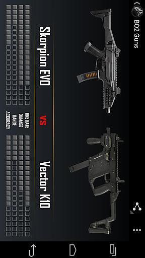 黑色行动枪械集