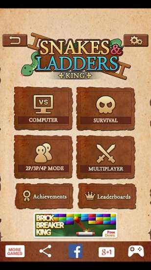 Snakes Ladders King