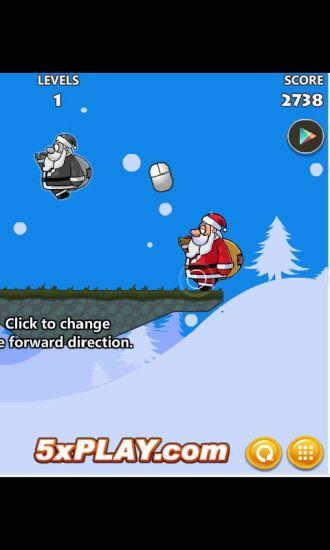 圣诞老人梦游冒险