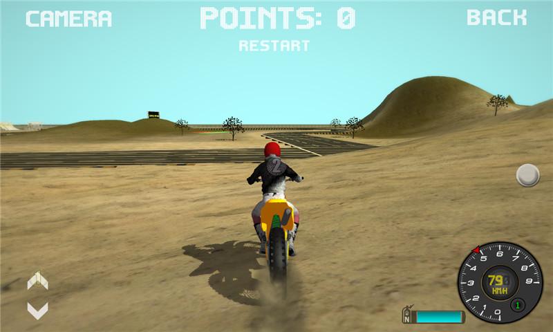 摩托车越野赛车3D