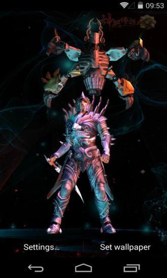 3D神器传说之万仙教梦象动态壁纸