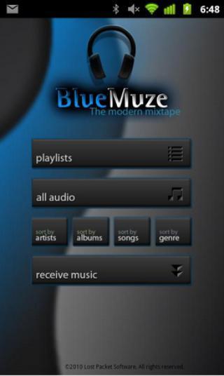 蓝牙音乐共享 BlueMuze