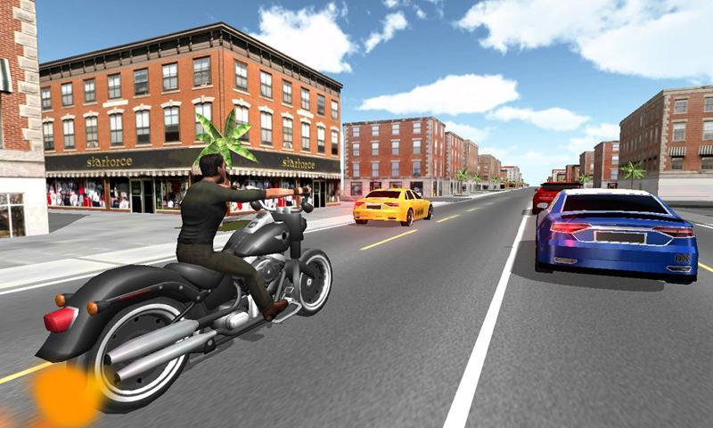 3D摩托车赛车