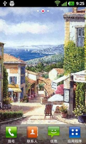 欧洲小镇风情壁纸