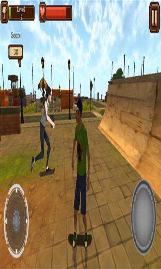3D滑板模拟器