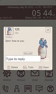 ZMilk【GO短信主题】