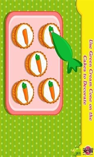 胡萝卜蛋糕制作