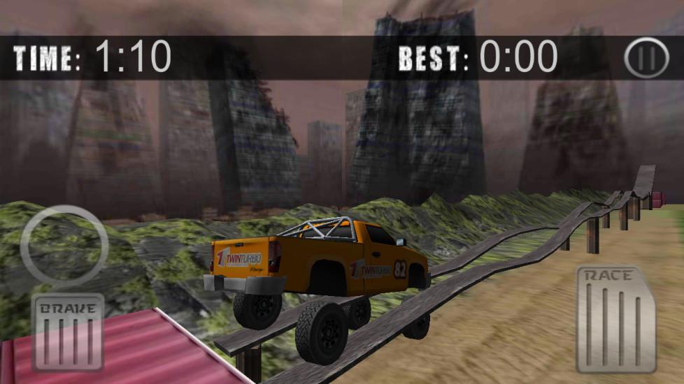 怪物卡车爬坡赛