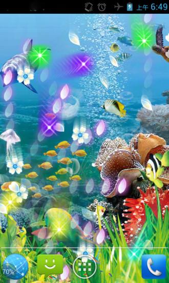 玩免費工具APP|下載水族馆唯美动态壁纸 app不用錢|硬是要APP