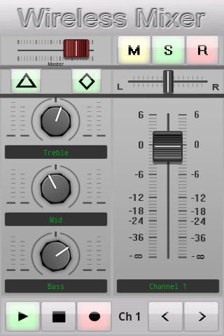 无线调音台 Wireless Mixer