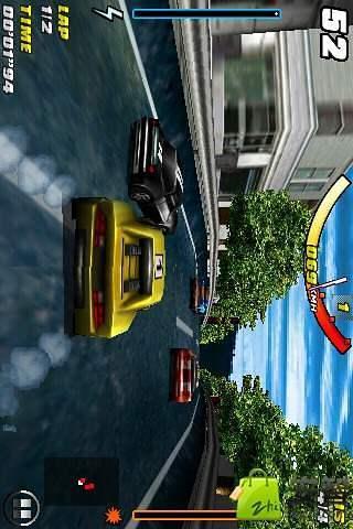 3D真实赛车游戏