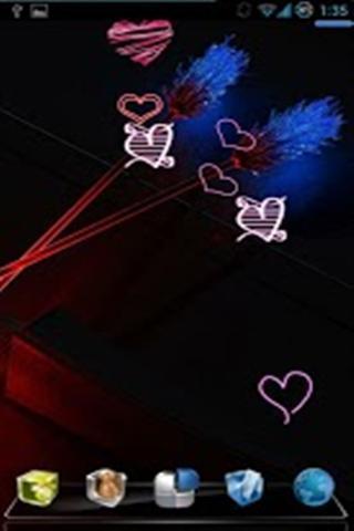 情人节霓虹灯壁纸