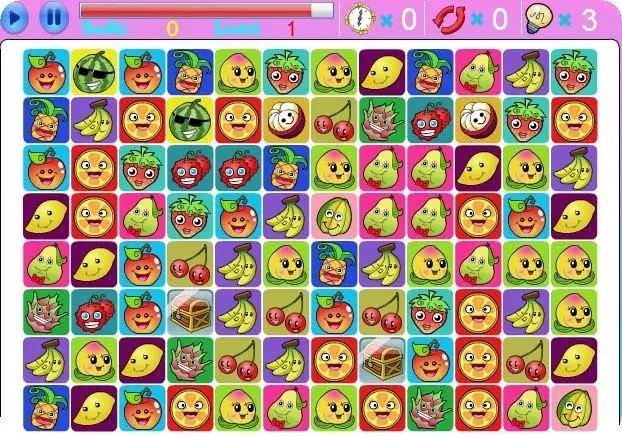 玩免費休閒APP|下載Cheerful Fruit Link app不用錢|硬是要APP