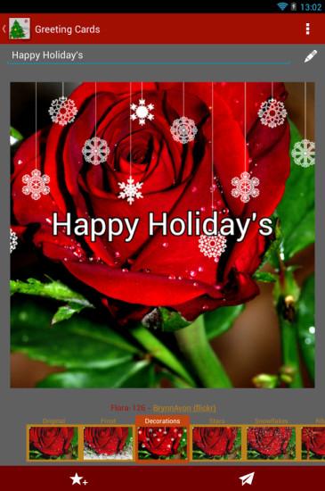 圣诞贺卡HD
