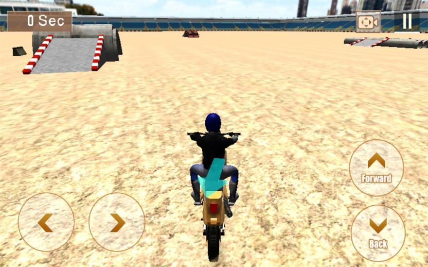 3D疯狂摩托车