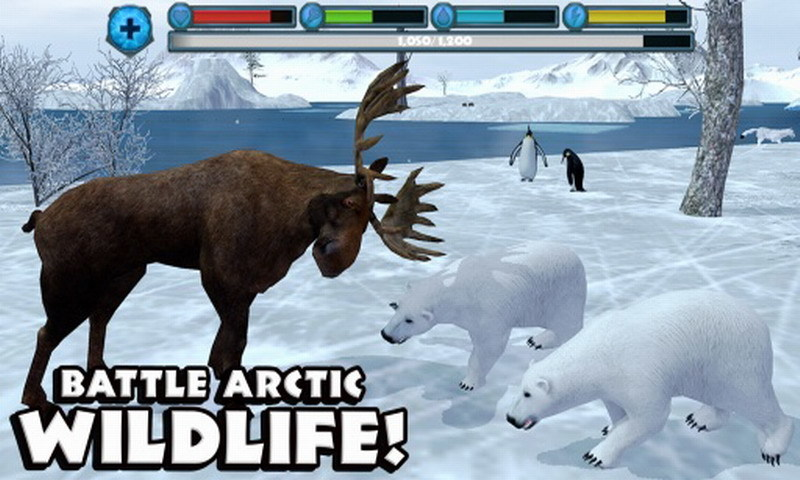北极熊模拟器