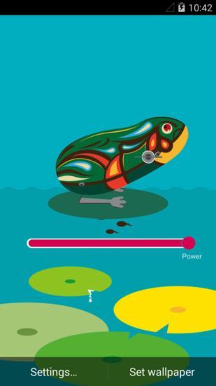 铁皮青蛙梦象动态壁纸
