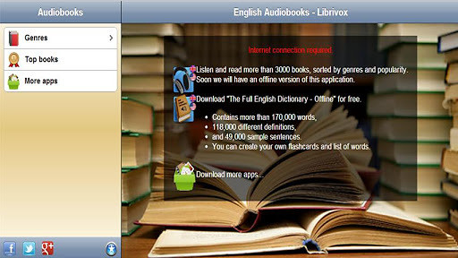有声读物英语 - LibriVox的