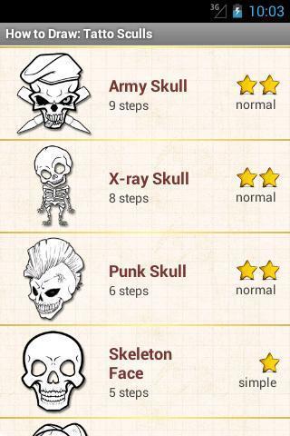 如何绘制:纹身头骨