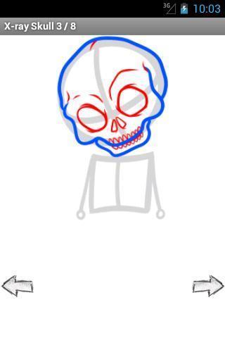 玩免費休閒APP|下載如何绘制:纹身头骨 app不用錢|硬是要APP