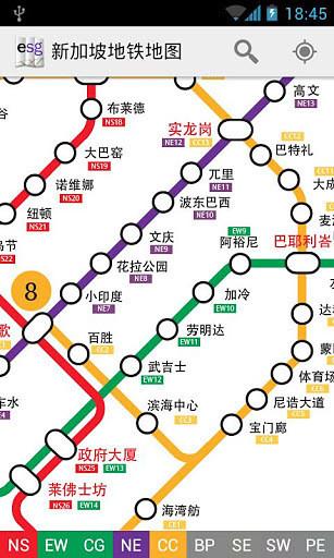 新加坡地铁地图 Explore SIngapore