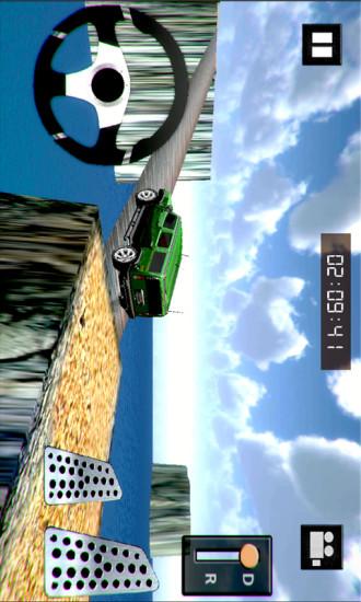 四轮驱动爬坡赛车3D