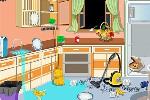 公主 室 清理 游戏