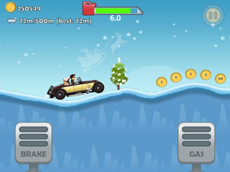 玩免費體育競技APP|下載圣诞登山拉力赛车 app不用錢|硬是要APP
